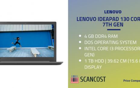 Lenovo Ideapad 130 Core i3 7th Gen
