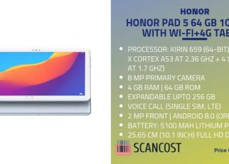Honor Pad 5