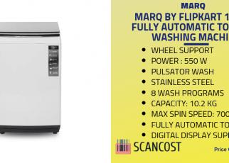Marq 10.2 kg washin machine