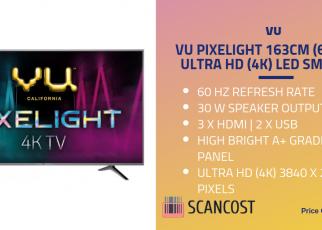 Vu 65 inch TV