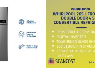 Whirlpool 265L