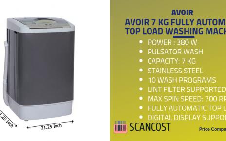 avoir 7kg washing machine